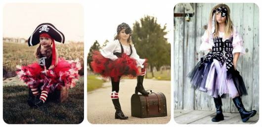 modelos de fantasia pirata menina
