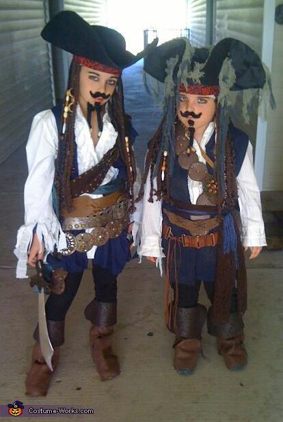 fantasia piratas do caribe infantil
