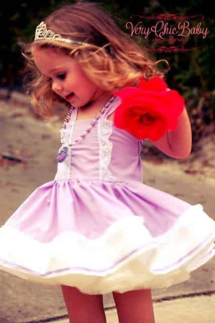 roupa princesa sofia