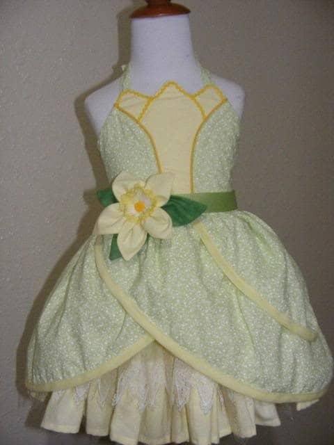 roupa princesa tiana