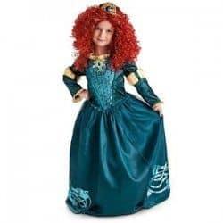 fantasia menina princesa filme valente