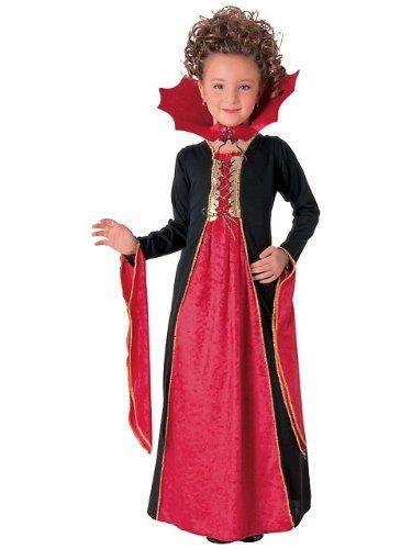 vestido dia das bruxas preto e vermelho