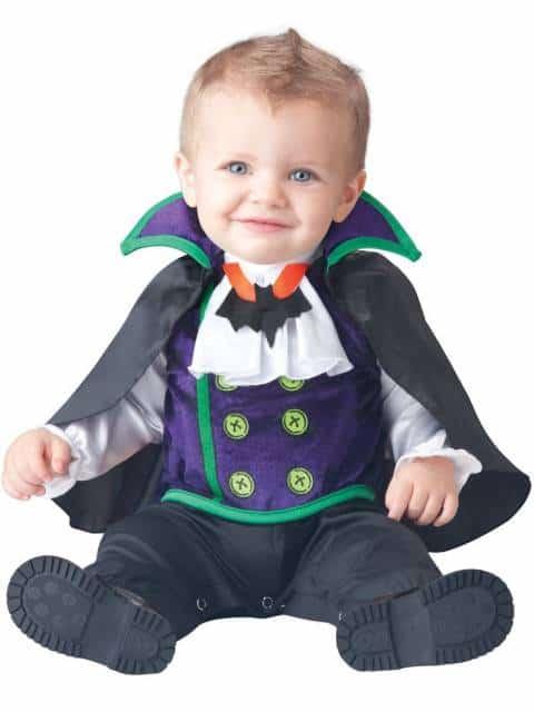 fantasia bebê vampiro