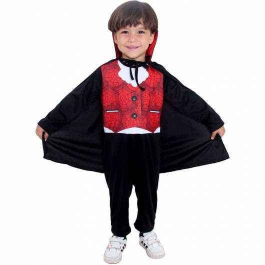 roupa vampiro criança