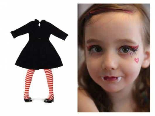 como fazer roupa halloween infantil