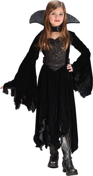 vestido vampira menina