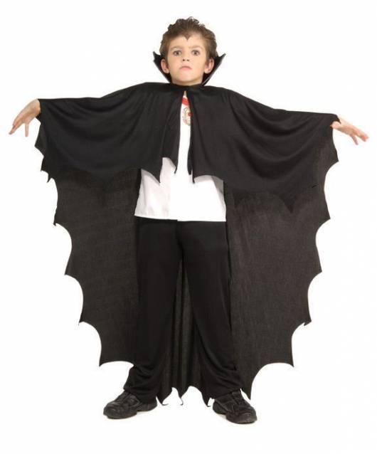 fantasia simples vampiro infantil