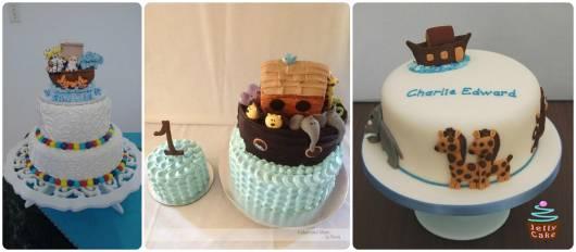 modelos bolos decorados com animais