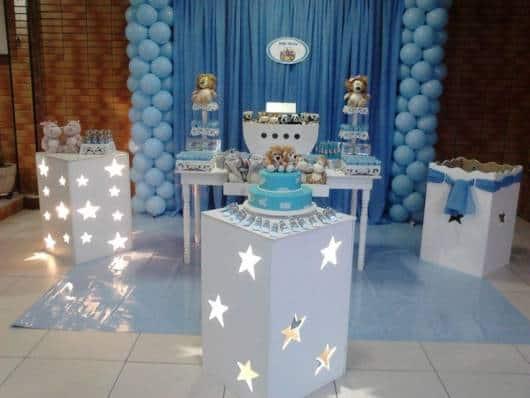 festa arca noé azul