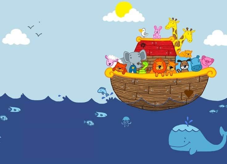 convite festa arca noé