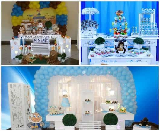 decorações festa infantil arca noé