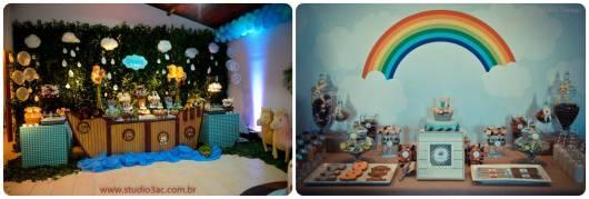 ideias decorar festa bebê arca de noé