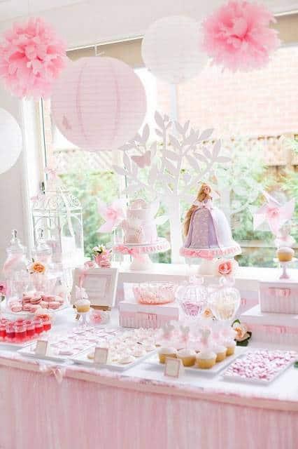 festa barbie princesa para bebê