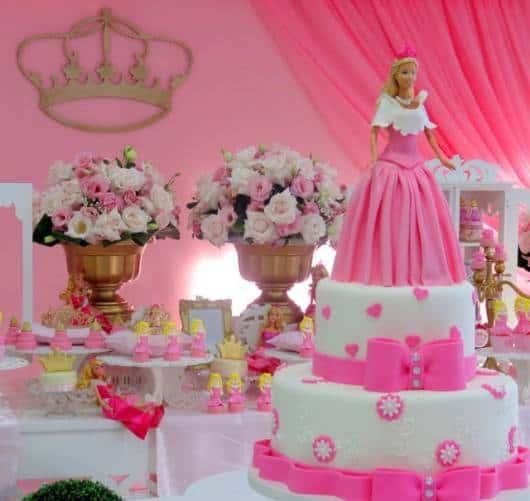 bolo festa princesa