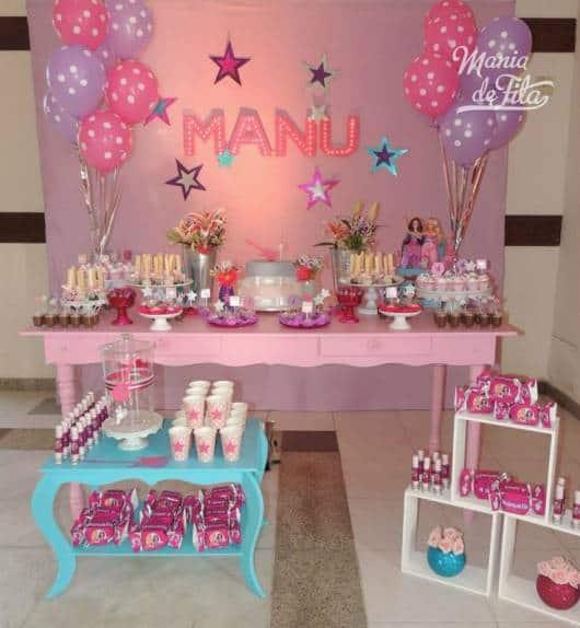 aniversário barbie princesa