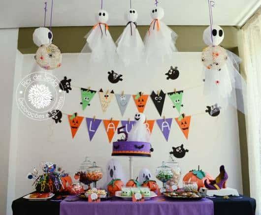 festa infantil fantasmas
