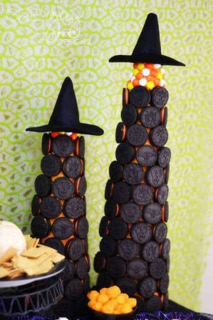 comida festa halloween