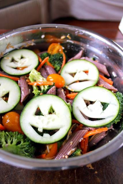 salada para crianças