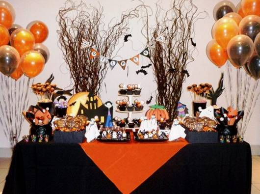 Decoracao De Festa Infantil Tema Halloween.Festa Halloween Infantil 30 Dicas E Fotos