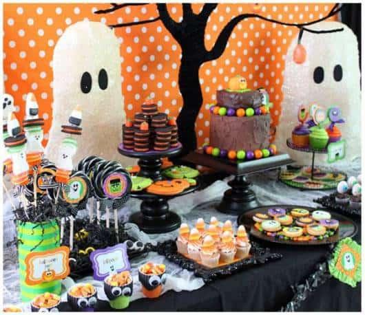 festa criança halloween