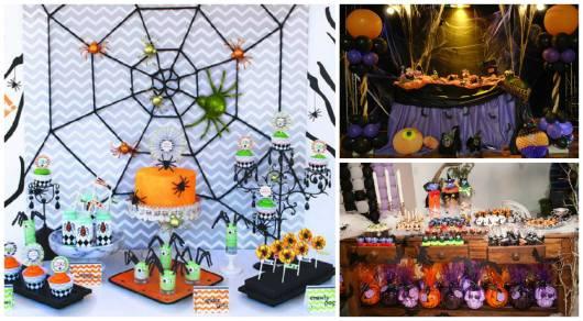 ideias para decorar festa terror