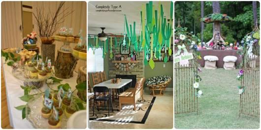decorações festa verde