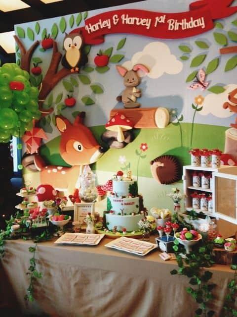 Festa Infantil Floresta 20 Dicas E Fotos