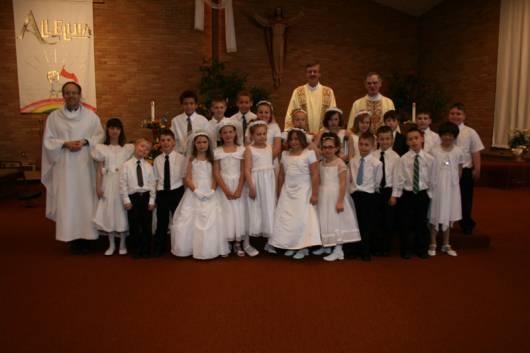 foto de reunião da primeira eucaristia