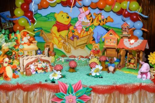 dicas de decoração de festa do ursinho pooh