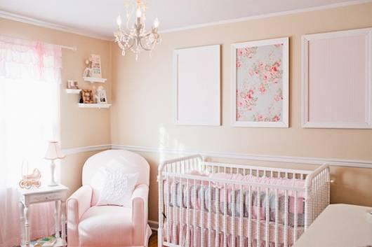 quarto bebê rosa