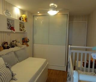 ventilador teto quarto bebê