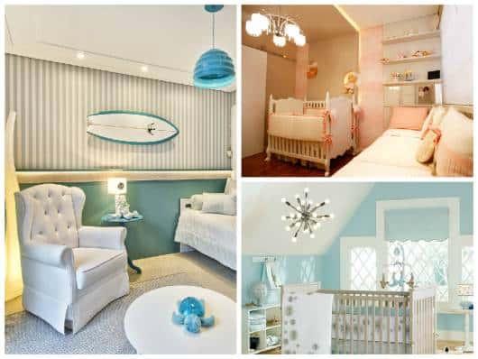 ideias decoração moderna quarto bebê