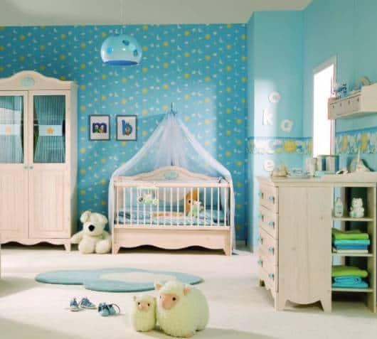 lustre quarto menino