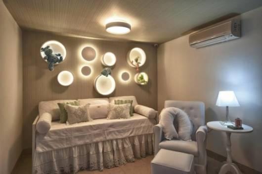 lustre simples quarto bebê
