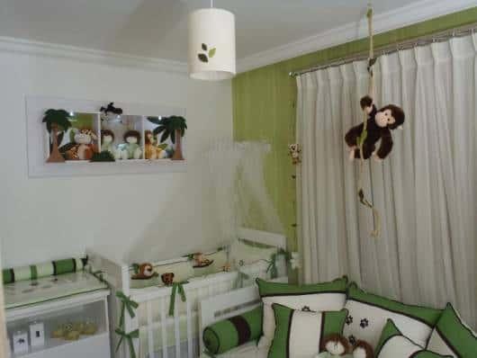 decoração quarto safari