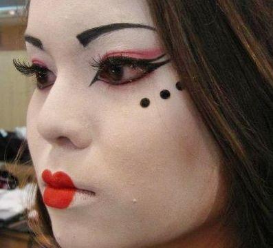 inspiração maquiagem fantasia