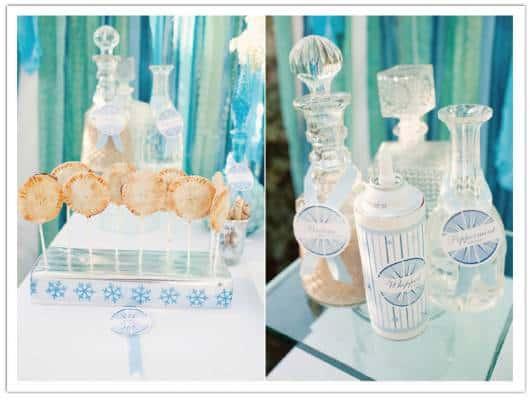 dica de decoração de mesa para chá de bebê em cor azul