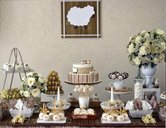 mesa festa infantil ovelhinhaa