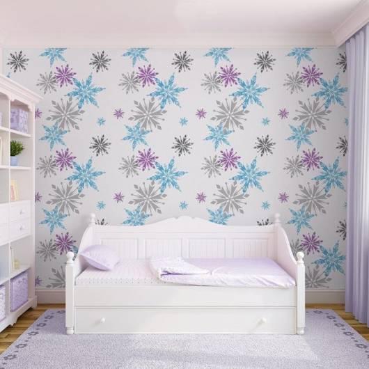 quarto da frozen 30 ideias para fazer. Black Bedroom Furniture Sets. Home Design Ideas