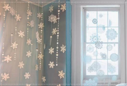 cortina diferente frozen