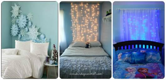 ideias decorar quarto menina com luzinhas