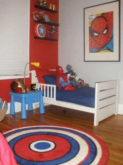 Quarto do homem aranha 30 dicas e fotos for Habitaciones completas baratas