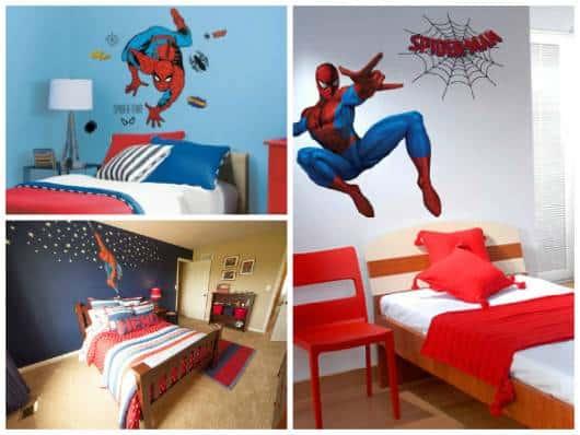 como decorar quarto herói
