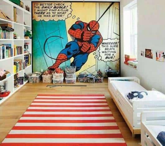 papel parede homem aranha