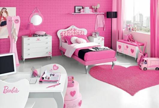 quarto minnie para adolescentes
