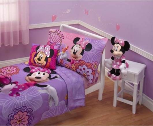 quarto minnie para menina