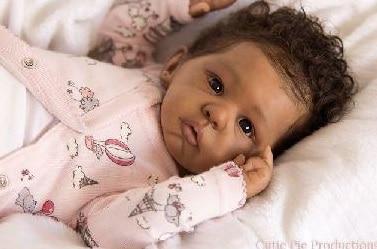 boneca reborn negra