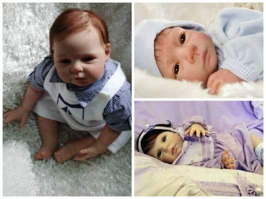 menino e menina reborn