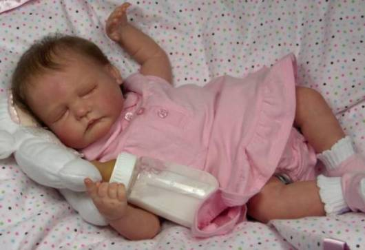 vestido rosa boneca