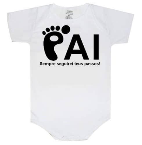 body bebê para pai